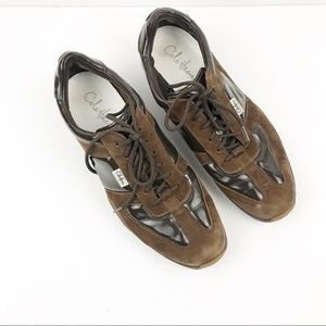 COLE HAAN | Nike Air Brown Suede Oxford Shoes 9.5B
